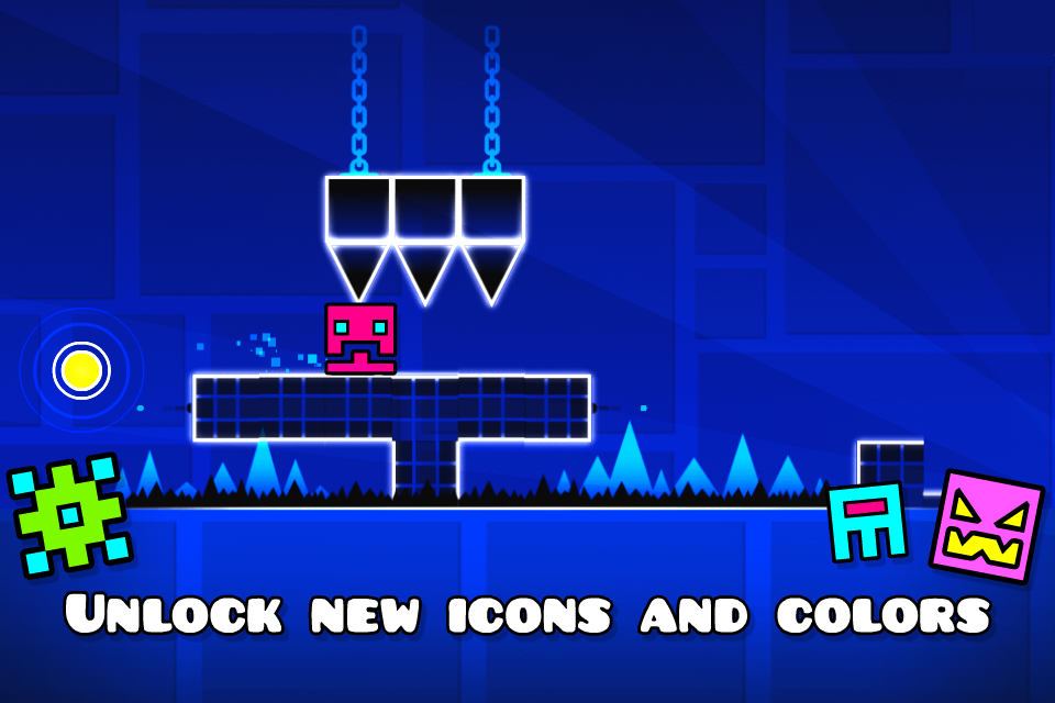 Geometry Dash Mod Apk (Unlimited Money/Diamonds) Unlocked All 4