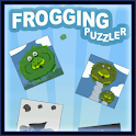 Frogging Puzzler logo
