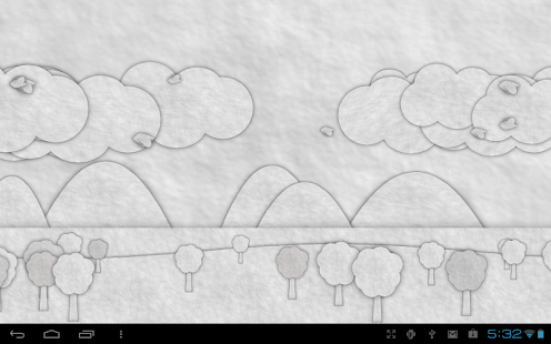 Paperland Live Wallpaper Screenshot
