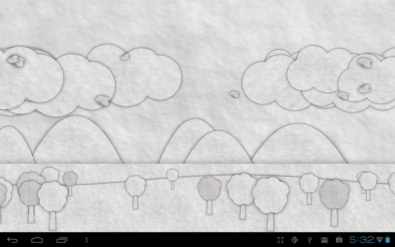 Paperland Live Wallpaper - screenshot