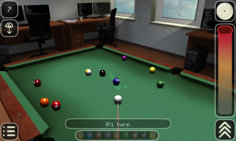 3D Pool game - 3ILLIARDS- screenshot