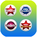 UK Lotto EuroMillions Live icon