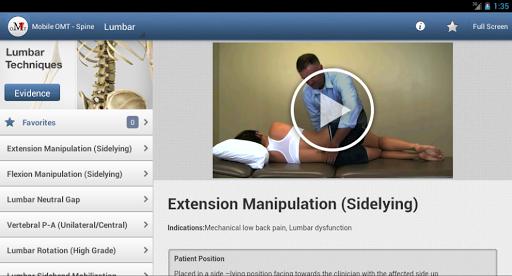【免費醫療App】移動 OMT的脊柱-APP點子