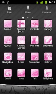 Girly GO Launcher EX theme