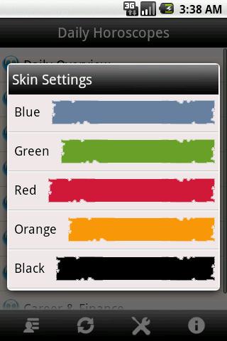 iHoroscope- screenshot