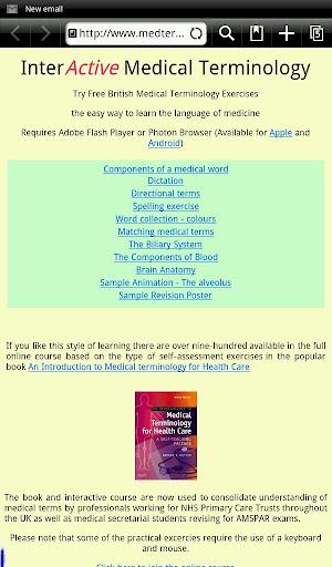 Learn Medical Terminology 1.5 screenshots 6