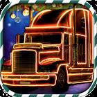 クリスマストラック駐車場の3D icon