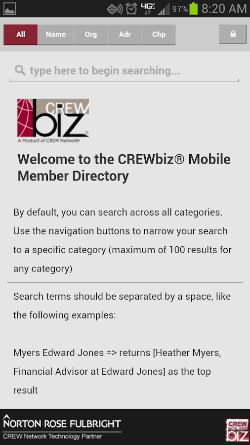 CREWbiz- screenshot