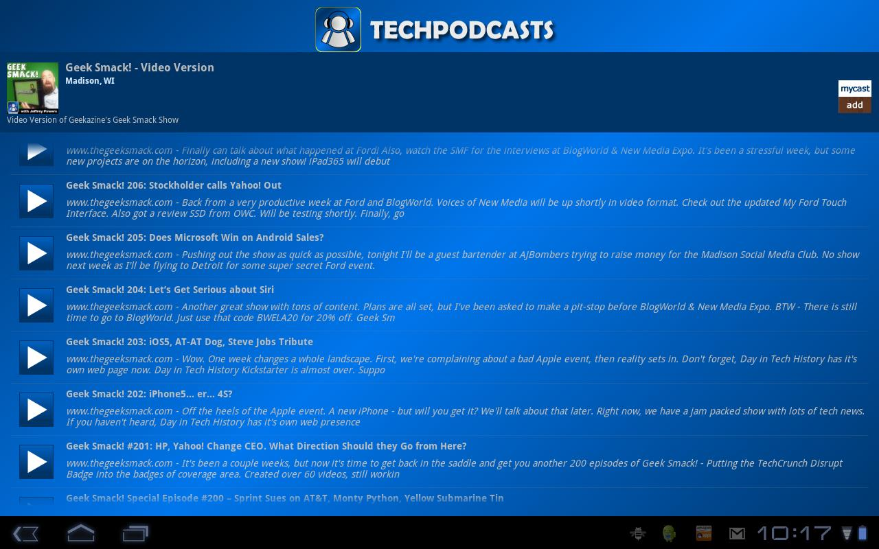 Tech Podcast Network @GoogleTV - screenshot
