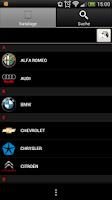 Screenshot of CARwis APP