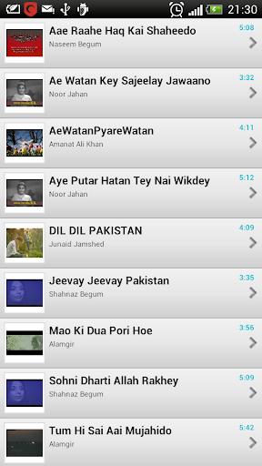 Pak National Video Songs V2