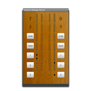 Travel Cribbage Board 5.0 Icon
