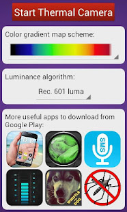 thermal camera hd effect apps on google play