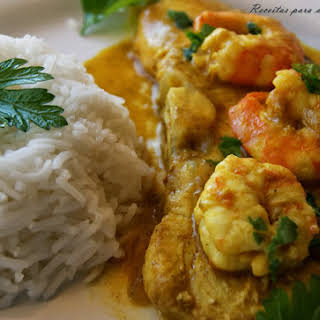 Seafood Curry.