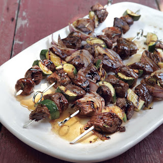 Classic Beef Kabobs.
