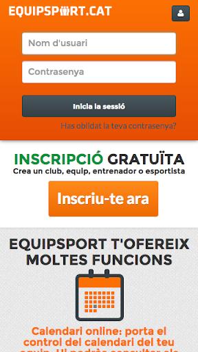 Equipsport  screenshots 1