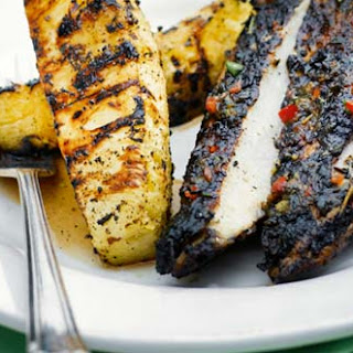 Jerk Chicken With Grilled Pineapple