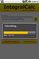 Screenshot of IntegralCalc