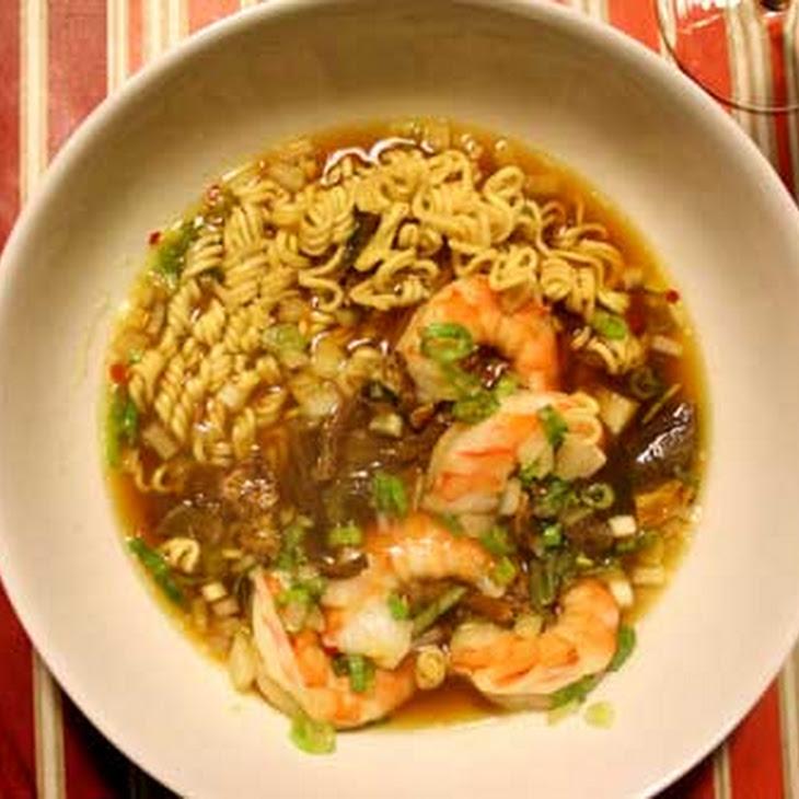 Alton Brown'S Ramen Shrimp Pouch Recipe