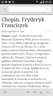 La Treccani- screenshot thumbnail