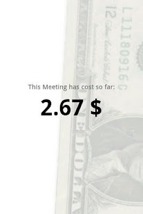 Meeting Cost Meter - screenshot thumbnail