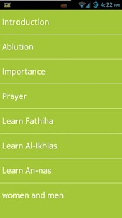 Learn Salah/Prayer - screenshot thumbnail