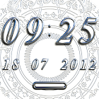 ANGEL Digital Clock Widget icon