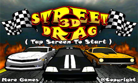 Street Drag 3D : Racing cars Screenshot 16