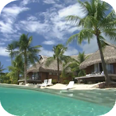 Waves Beach Bungalows HD LWP