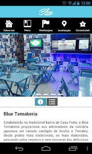 Blue Temakeria- screenshot thumbnail