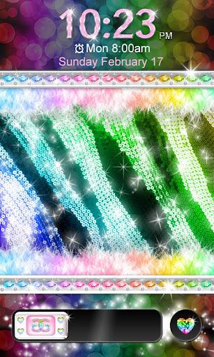 Glamorous★Rainbow Zebra★Locker