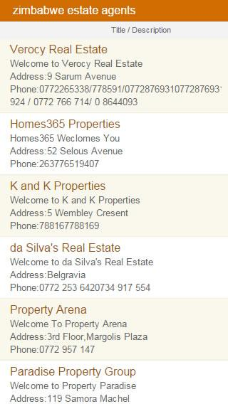 Classifieds.co.zw- screenshot