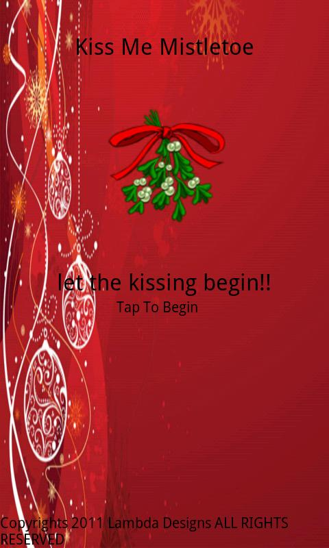 Kiss Me Mistletoe- screenshot