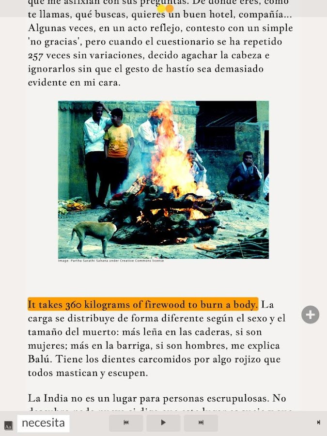 Read in Spanish:  Varanasi- screenshot