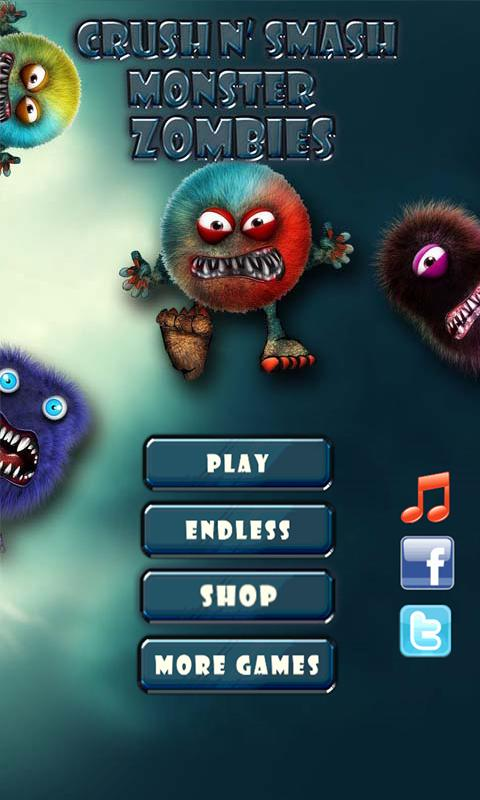 Crush N' Smash Monster Zombies- screenshot