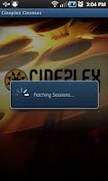 Screenshot of Cineplex Cinemas