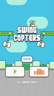 Swing Copters Capture d'écran