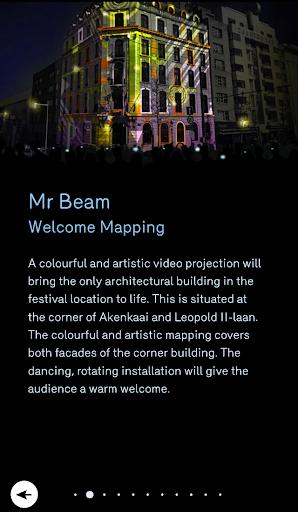 Brussels Light Festival 1.0.0 screenshots 3