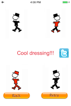 Stickman Dress Up Fashion Free apk screenshot