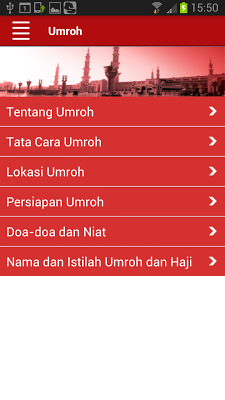 Telkomsel Ibadah - screenshot