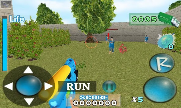 Aiden Water Gun Demo apk screenshot