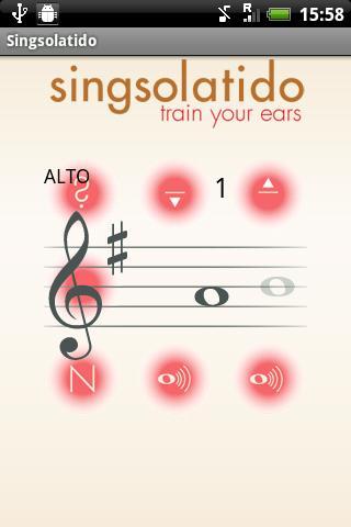 Singsolatido- screenshot