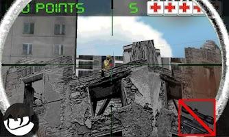 Screenshot of Sniper army: city on war