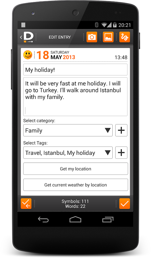 Private DIARY Pro - Personal journal- screenshot