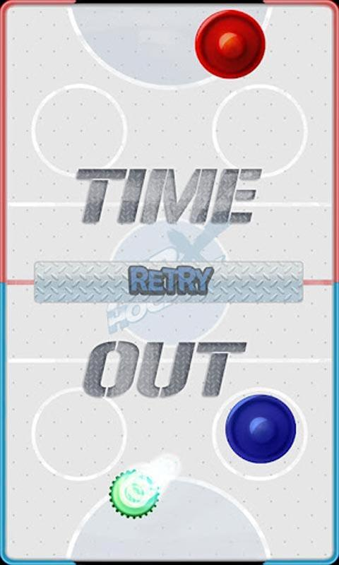 Air Hockey Cross - screenshot