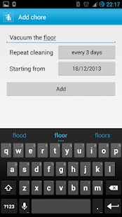 Clean House - chores schedule- screenshot thumbnail