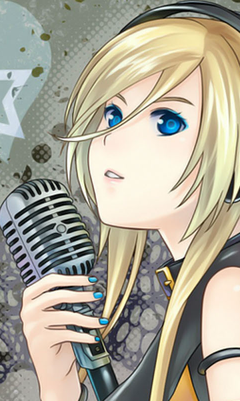 Japanese manga ringtones - screenshot