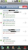 Screenshot of Server Monitor -Web, Ping, TCP