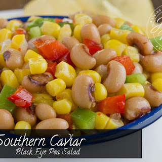 Southern Caviar -- Black Eyed Pea Salad