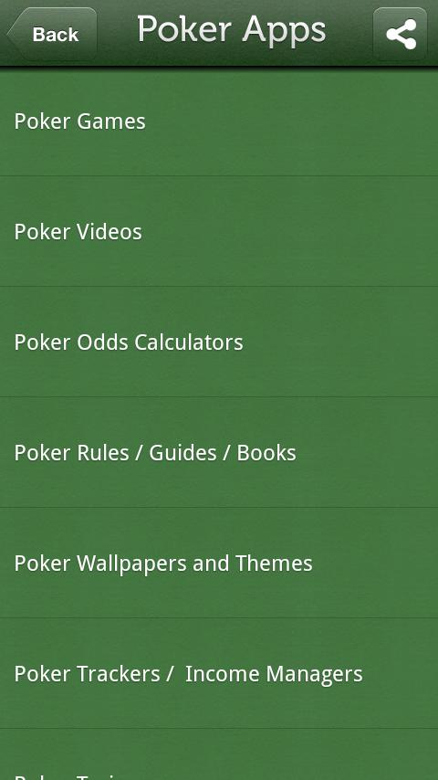Poker Apps - screenshot